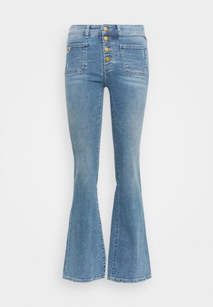 GAUCHO  - Flared jeans - triple stone cross