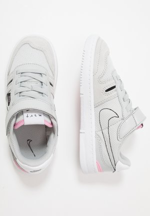 SQUASH-TYPE UNISEX - Sneakers laag - grey fog/black/pink/white