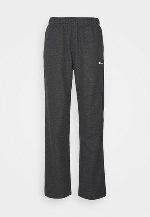 STRAIGHT HEM PANTS - Pantalon de survêtement - mottled dark grey