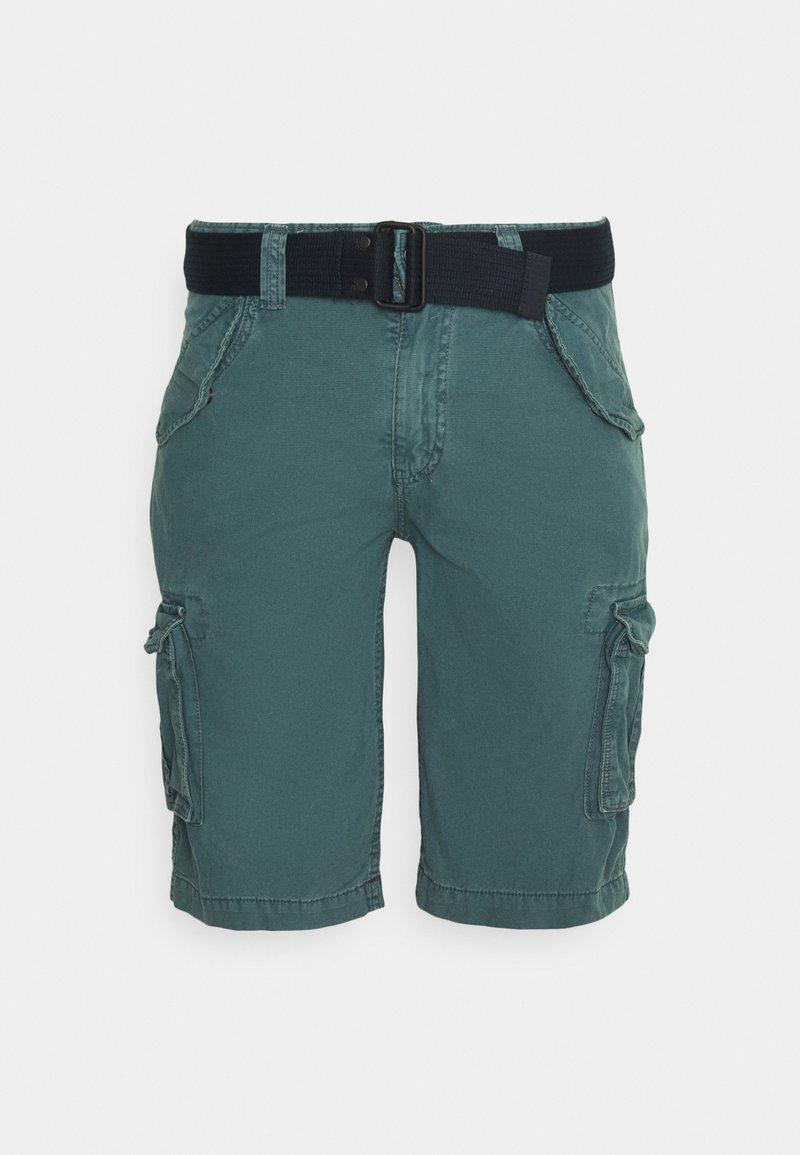Schott - BATTLE - Shorts - blue