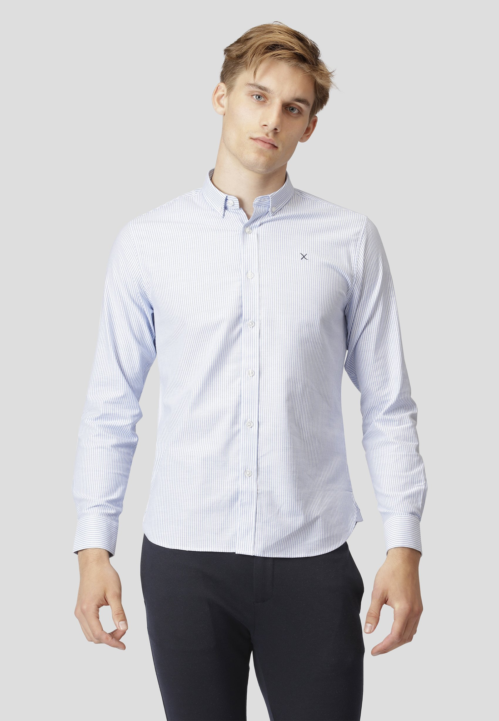 Homme OXFORD L/S - Chemise