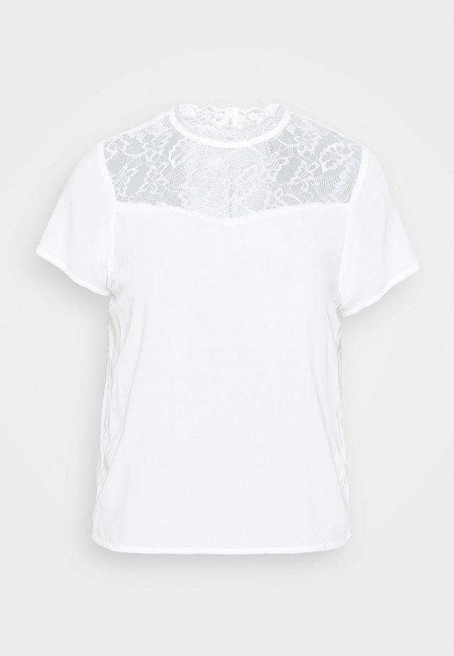 ONLFIRST TOP  - T-shirt basic - cloud dancer