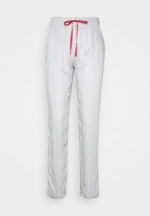 MIX MATCH TROUSER STRIPE - Pantaloni del pigiama - moonstone grey
