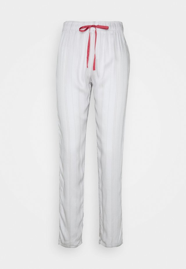MIX MATCH TROUSER STRIPE - Spodnie od piżamy - moonstone grey