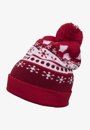 Beanie - red/white