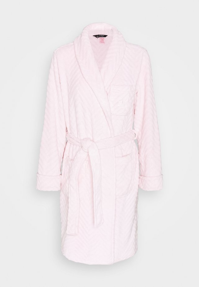 SHORT ROBE - Dressing gown - pink