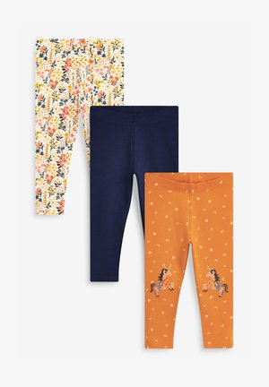 3 PACK - Leggings - Trousers - apricot