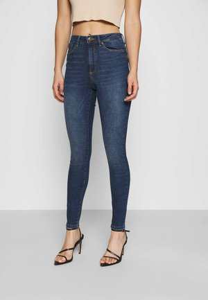 VMSOPHIA SKINNY - Jeans Skinny Fit - dark blue denim