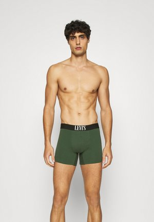MEN GIFTBOX STRIPE BOXER BRIEF 3 PACK - Shorty - green