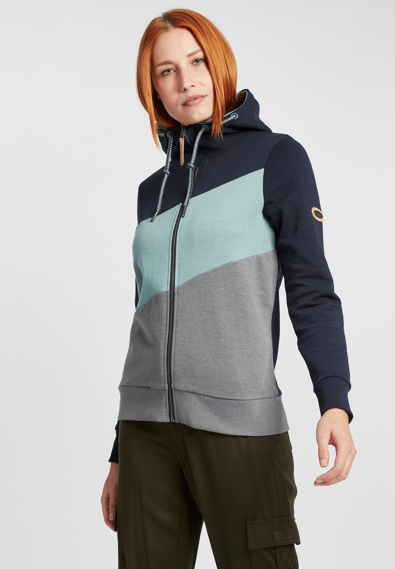 Oxmo - AGGI - Zip-up hoodie - insignia blue