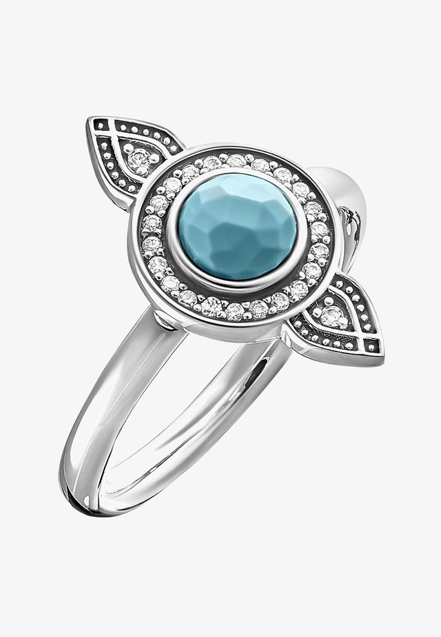 ETHNO TRAUMFÄNGER  - Ring - silver-coloured
