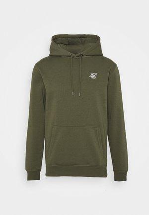 MUSCLE FIT OVERHEAD HOODY - Sweatshirt - khaki