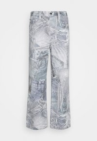 Jaded London - REALISTIC PRINT - Relaxed fit jeans - blue - 5
