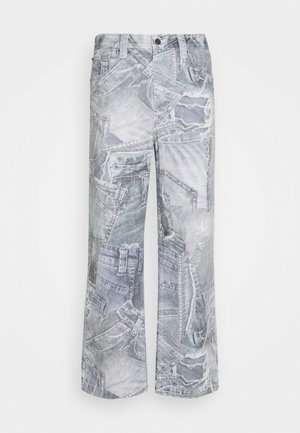 REALISTIC PRINT - Džíny Relaxed Fit - blue