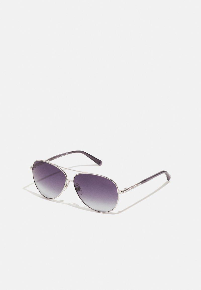 Swarovski - Sunglasses - shiny palladium-coloured/smoke