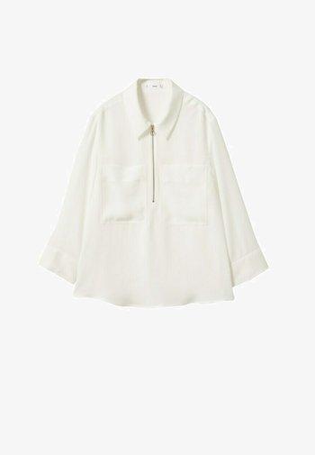 BOLSILLOS - Koszulka polo - blanco roto