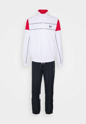 BERRY TRACKSUIT - Tracksuit - navy/white