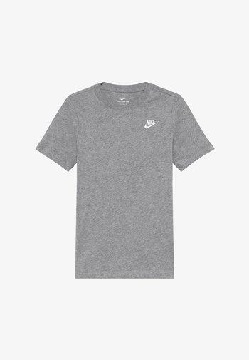 FUTURA TEE - Basic T-shirt - grey heather/white