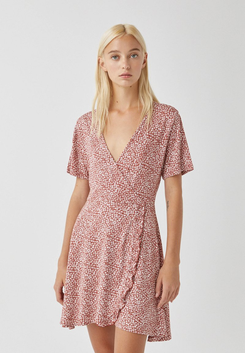 PULL&BEAR - Day dress - orange