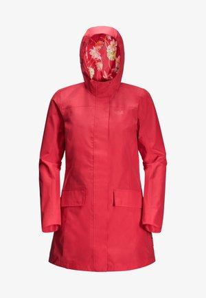 CAPE YORK PARADISE - Waterproof jacket - tulip red