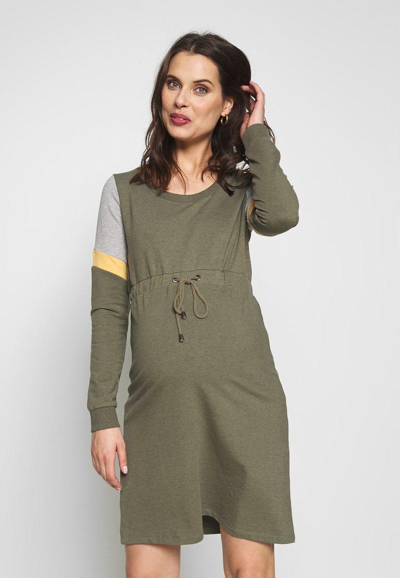 MAMALICIOUS - MLMENA DRESS - Vestido informal - dusty olive