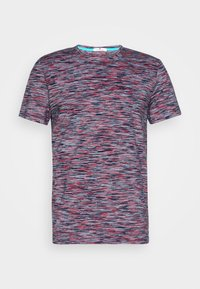 TOM TAILOR - Print T-shirt - navy/neon space - 4