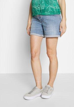 SHORT - Shorts di jeans - lightwash