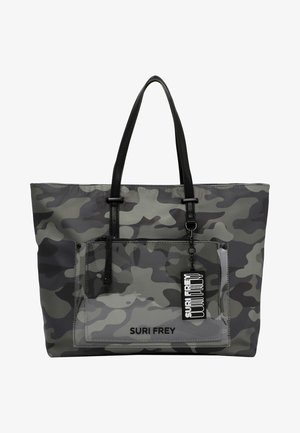 SURI BLACK LABEL TESSY - Tote bag - oliv-camouflage 989