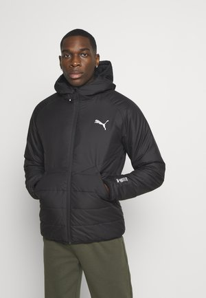 WARMCELL PADDED JACKET - Talvitakki - black