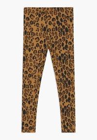 Mini Rodini - BABY BASIC LEOPARD UNISEX - Leggings - Trousers - beige - 1