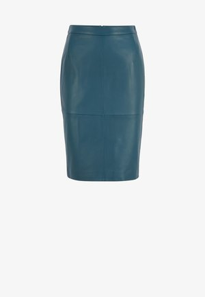 SELTONI - Pencil skirt - dark blue