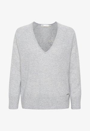 LUKKA  - Strickpullover - new light grey melange