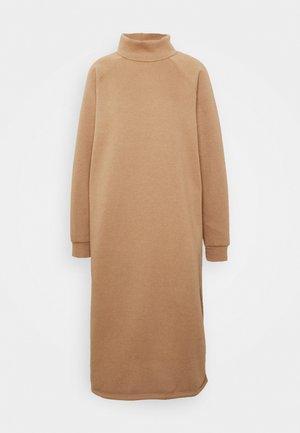 ONLLOLA HIGHNECK DRESS - Day dress - burro