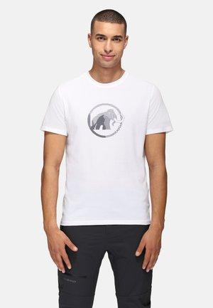 Print T-shirt - white prt4