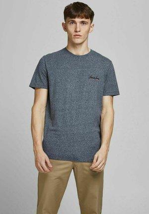 JORTONS TEE CREW NECK - Basic T-shirt - navy blazer