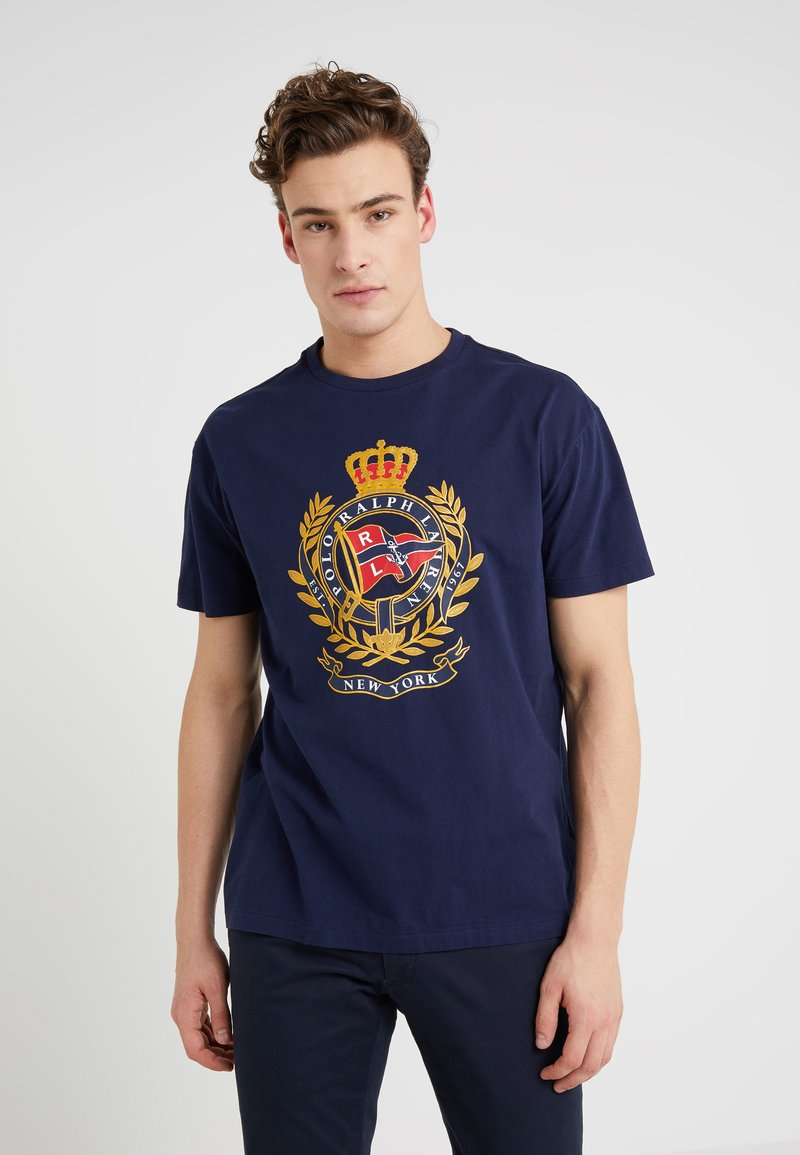 Polo Ralph Lauren - Print T-shirt - cruise navy