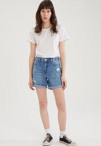 DeFacto - PACK OF 2 - Basic T-shirt - white - 0
