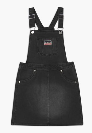 JUMPER - Denim dress - black denim