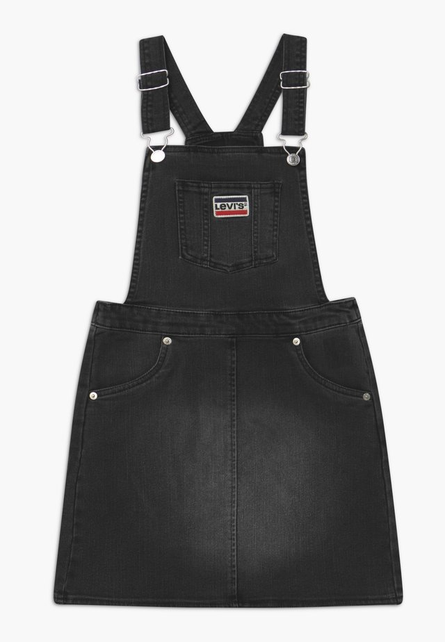 JUMPER - Denim dress - black denim