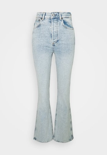 THE RICKY HIGH RISE PEACE SIGN - Flared jeans - woodstock