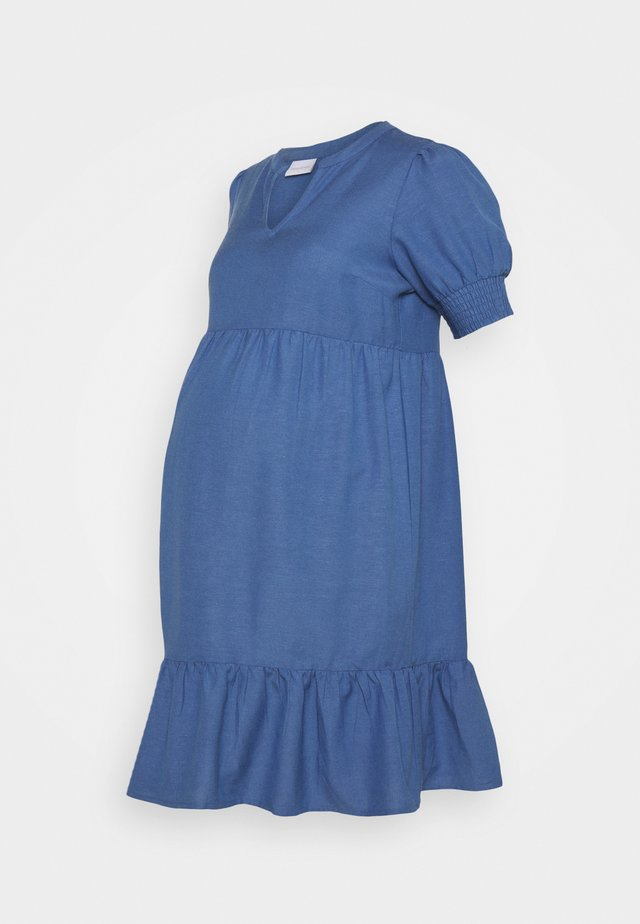 MLCHIA SHORT DRESS - Denní šaty - medium blue denim