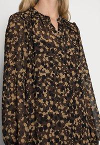 Esprit Collection - DRESSES LIGHT WOVEN - Abito a camicia - dark brown - 4