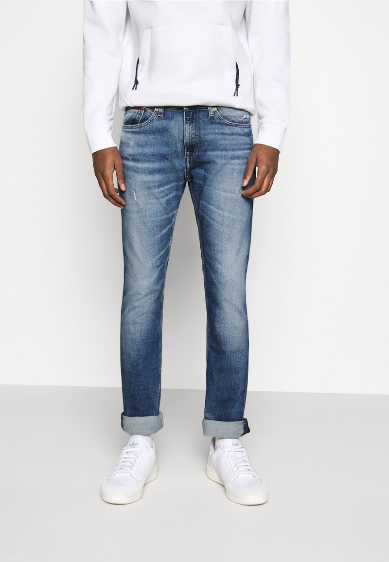 Tommy Jeans - SCANTON - Slim fit -farkut - light blue denim