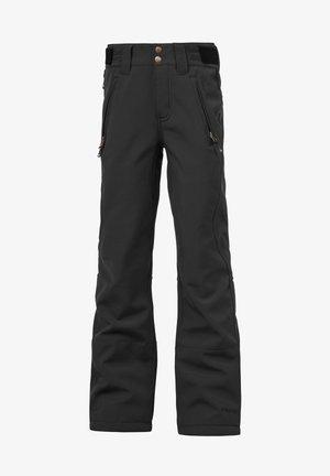 LOLE SOFTSHELL - Zimní kalhoty - true black