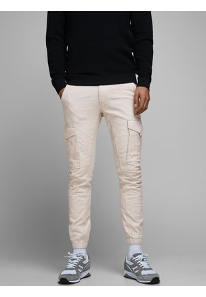 PAUL FLAKE - Cargo trousers - silver birch