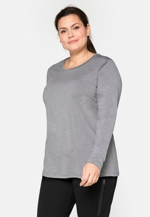 Sports shirt - grau meliert