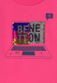 Benetton - FUNZIONE GIRL - Top sdlouhým rukávem - pink - 2