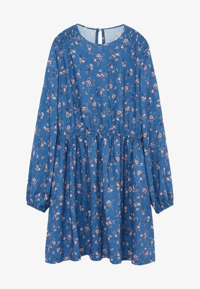 JARDIN - Day dress - bleu