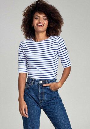 CANCALE - MARINIÈRE - T-SHIRT - Print T-shirt - blanc/etoile