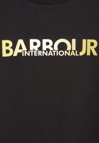 Barbour International - DELTA TEE - Triko spotiskem - black - 2